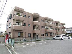 愛知県知多市新舞子字神田の賃貸マンションの外観