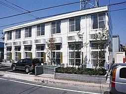 埼玉県草加市青柳4丁目の賃貸アパートの外観