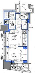 JR山手線 神田駅 徒歩4分の賃貸マンション 9階1DKの間取り