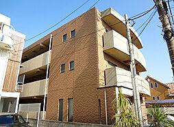 神奈川県藤沢市片瀬海岸3丁目の賃貸マンションの外観