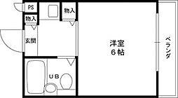 大阪府東大阪市東山町の賃貸マンションの間取り