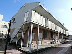 大阪府藤井寺市林3丁目の賃貸アパートの外観