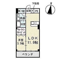 Mハウス2 3階[304号室]の間取り