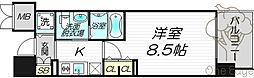 エステムプラザ梅田・中崎町IIIツインマークスノースレジデンス[6階]の間取り