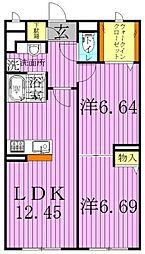 Miwastahe[1階]の間取り