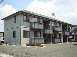 長野県松本市小屋南1丁目の賃貸アパートの外観