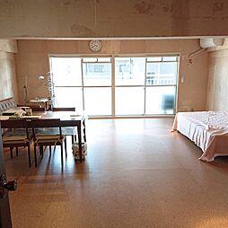 1LDKの居間