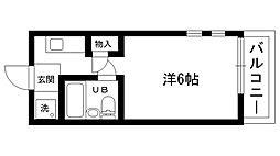 パンプランテ甲子園[107号室]の間取り