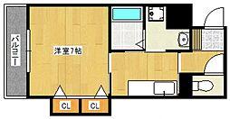 ライフコートセイ[2階]の間取り
