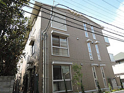 ソレイユ八尾[3階]の外観