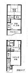 [テラスハウス] 千葉県佐倉市上志津 の賃貸【千葉県 / 佐倉市】の間取り