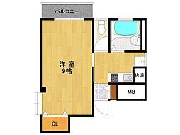 カサベイヤパート1[2階]の間取り