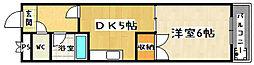 醍醐アーバン[2階]の間取り