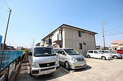 愛知県名古屋市中川区戸田5の賃貸アパートの外観