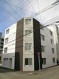 北海道札幌市白石区東札幌二条3丁目の賃貸マンションの外観