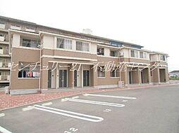 岡山県岡山市北区今保の賃貸アパートの外観