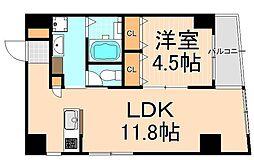 東京凱ショウビル[4階]の間取り