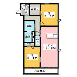madang325[3階]の間取り