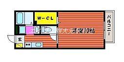 カフェテリアワケIII[1階]の間取り