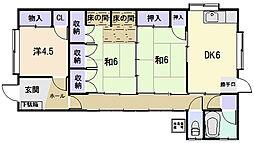 [一戸建] 三重県松阪市東町 の賃貸【三重県 / 松阪市】の間取り