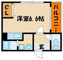 コンフォートムラタ[2階]の間取り