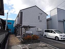 愛知県北名古屋市薬師寺山浦の賃貸アパートの外観