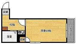 第14やたがいビル[304号室]の間取り
