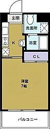 ウィステリアガーデン[5階]の間取り