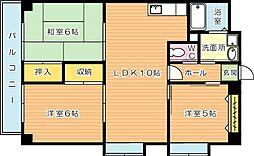 Fビル[301号室]の間取り