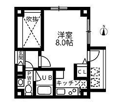 東京都墨田区江東橋4丁目の賃貸マンションの間取り