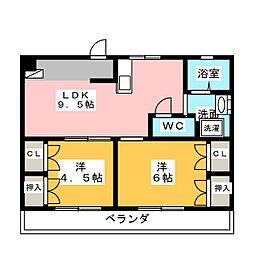 八事石坂ビル[5階]の間取り