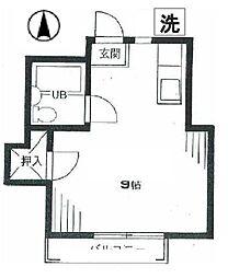 ストークハイツ丸山[1階]の間取り