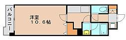 ユーチャリス21[5階]の間取り