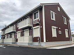 静岡県沼津市下香貫汐入の賃貸アパートの外観