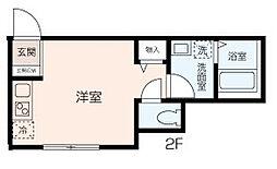 KANAZAWA FLOORS[101号室]の間取り