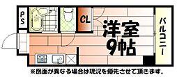 K-2西小倉ビル[802号室]の間取り