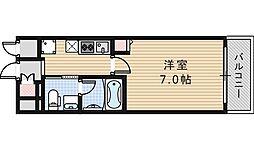 クリスタル昭和[202号室]の間取り