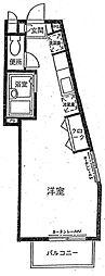 青南テラスハイム[2階]の間取り