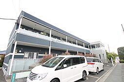 神奈川県座間市栗原中央5の賃貸アパートの外観