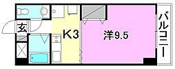 グリチネ・ウノ[402 号室号室]の間取り