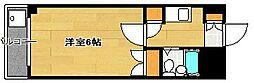 福岡県福岡市中央区梅光園1丁目の賃貸マンションの間取り