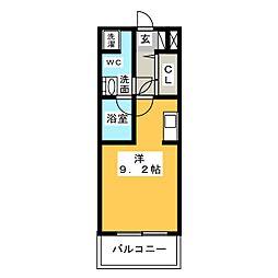 グラン・アベニュー西大須[6階]の間取り