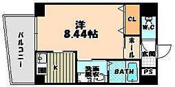 大阪府大阪市東淀川区東淡路2丁目の賃貸マンションの間取り