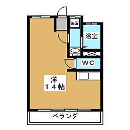 宮田ビル[4階]の間取り