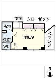 ベルディナトキワ[5階]の間取り