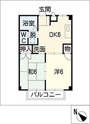 Rainbou house[1階]の間取り