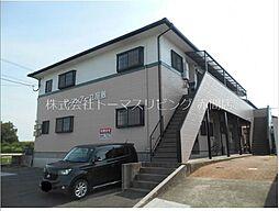 福岡県遠賀郡水巻町立屋敷3丁目の賃貸アパートの外観