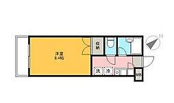 千葉県浦安市弁天4の賃貸マンションの間取り