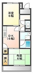 Ele Reve KawazoeB棟[2階]の間取り