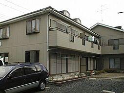 埼玉県白岡市西8丁目の賃貸アパートの外観